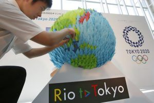 Ceremony marks 4 years to go before Tokyo hosts Olympics
