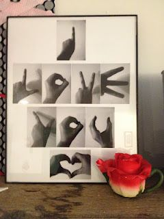 love this photo idea ... But it should be with the real sign language letters. <3