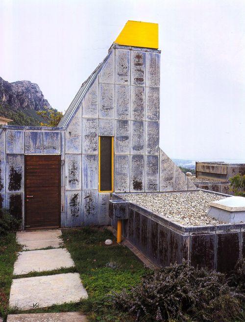 Alexandros Tombazis, House, 1977  Helios 1, Trapeza Aigialeias, Greece.