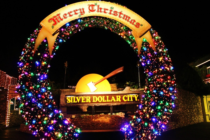 Welcome to #SilverDollarCity - and Merry Christmas!