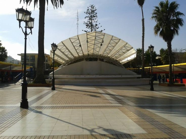 Concha Acústica, Escenario al aire libre, Coquimbo - CHILE