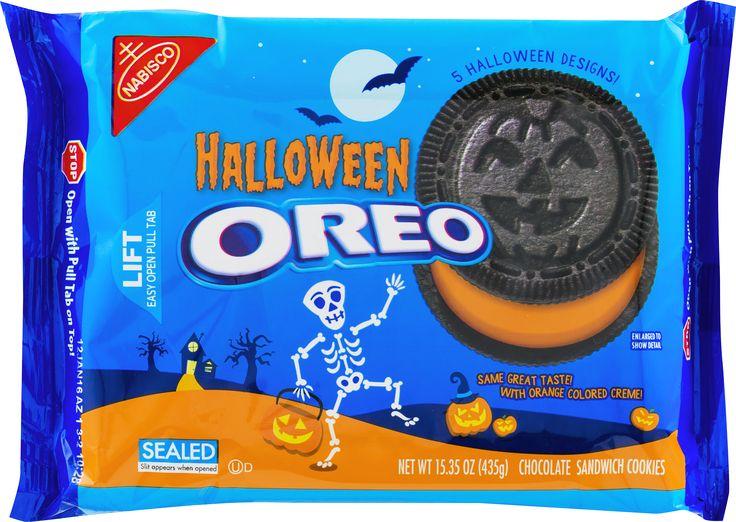 Nabisco Halloween Oreo Chocolate Sandwich Cookies, 15.35 OZ ...