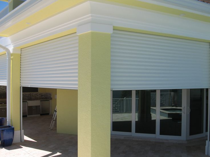 Enclosed #porch with #Hurricane #Shutters  #NC #Hurricane #Shutters www.atlanticbreezestormshutters.com