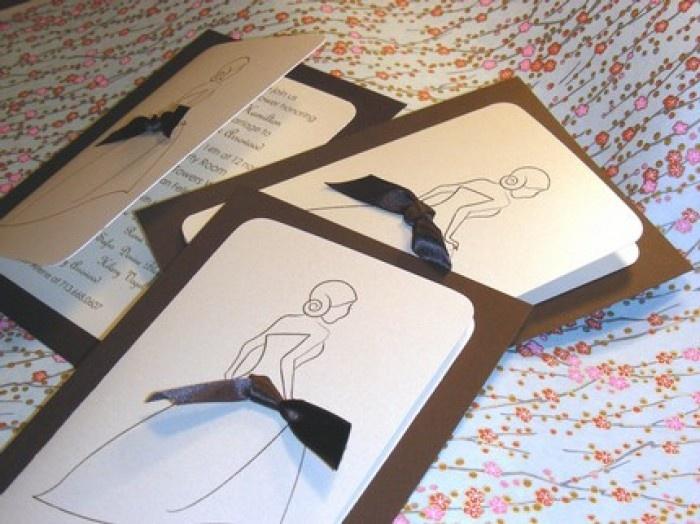 Shower Creative Design Tips for Wedding Invitations