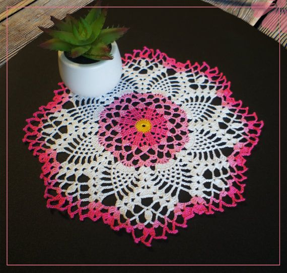 Hey, I found this really awesome Etsy listing at https://www.etsy.com/listing/259843389/color-crochet-doily-rosehip-1082lace