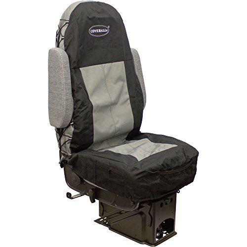 Seats Inc. COVERALLs Truck Seat Cover - Two-Tone Black/Gray, Model# 9107