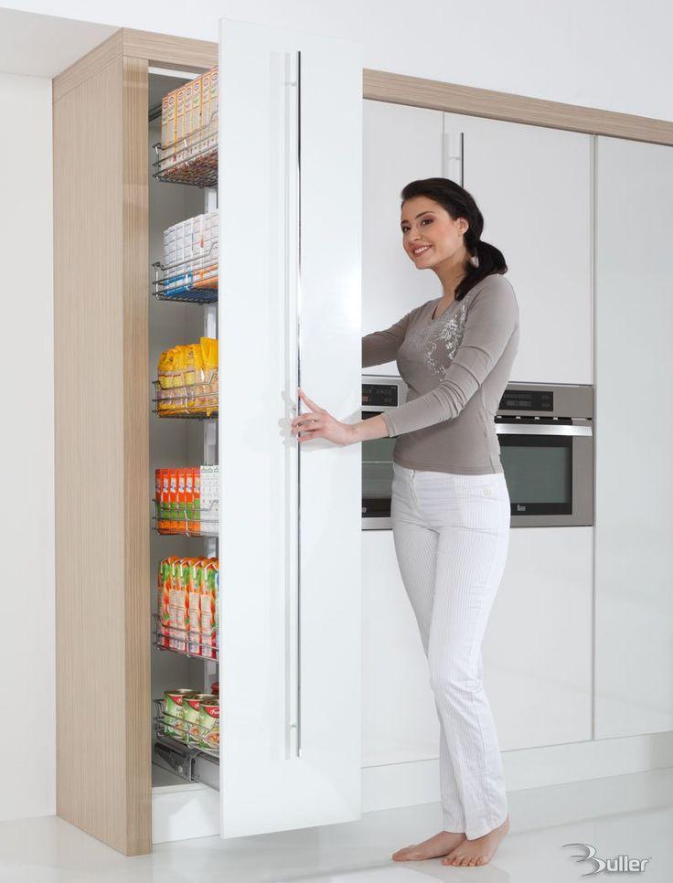 MAXIMA Evo Soft Close Kitchen Pull Out Larder