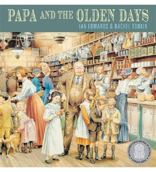 Papa and the Olden Days - Book