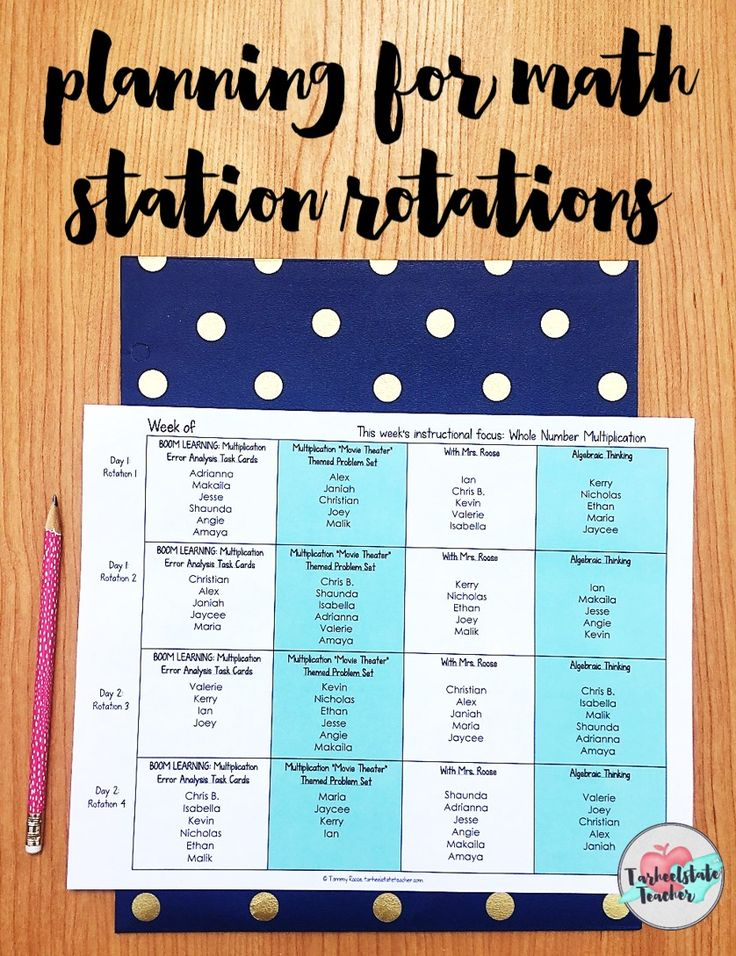 Math Stations Rotation Template   Math Stations Schedule Board   I'm sharing how I schedule my math stations rotations. Grab your free editable math rotations station template for upper elementary math stations. Learn how my math stations are differentiated within the schedule of assignments. Find out how I manage my stations without using a bulletin board; 4th grade math stations; 5th grade math stations
