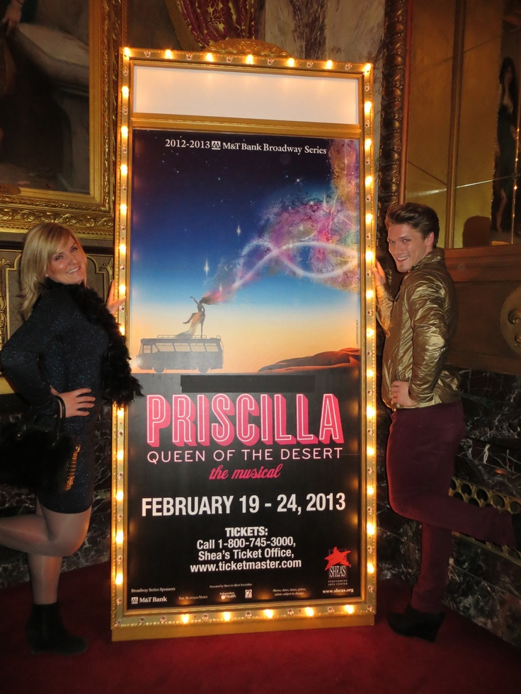 #PotentialistCanada .....supporting friends as they tour around the US with Priscilla Queen of the Desert - here with my wonderful friend Justin who I believe will be a part of the show one day :-)