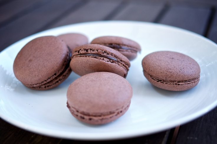 After much preparing, I made Chocolate Macarons with Chocolate Ganache. I thought they would be so hard (everyone says they're hard!)but they weren't that hard! They were quite easy actually.
