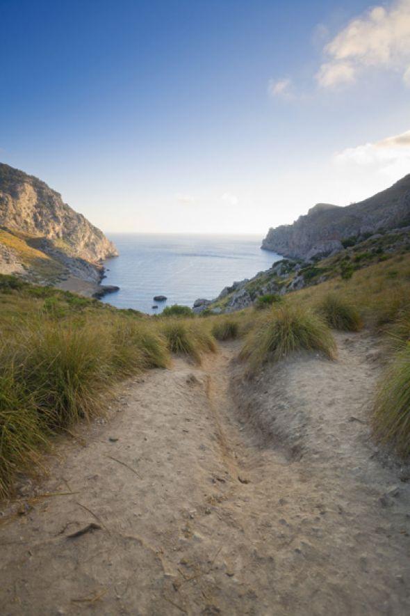 Spektakuläre Aussicht am Cala Figuera, Cap Formentor.