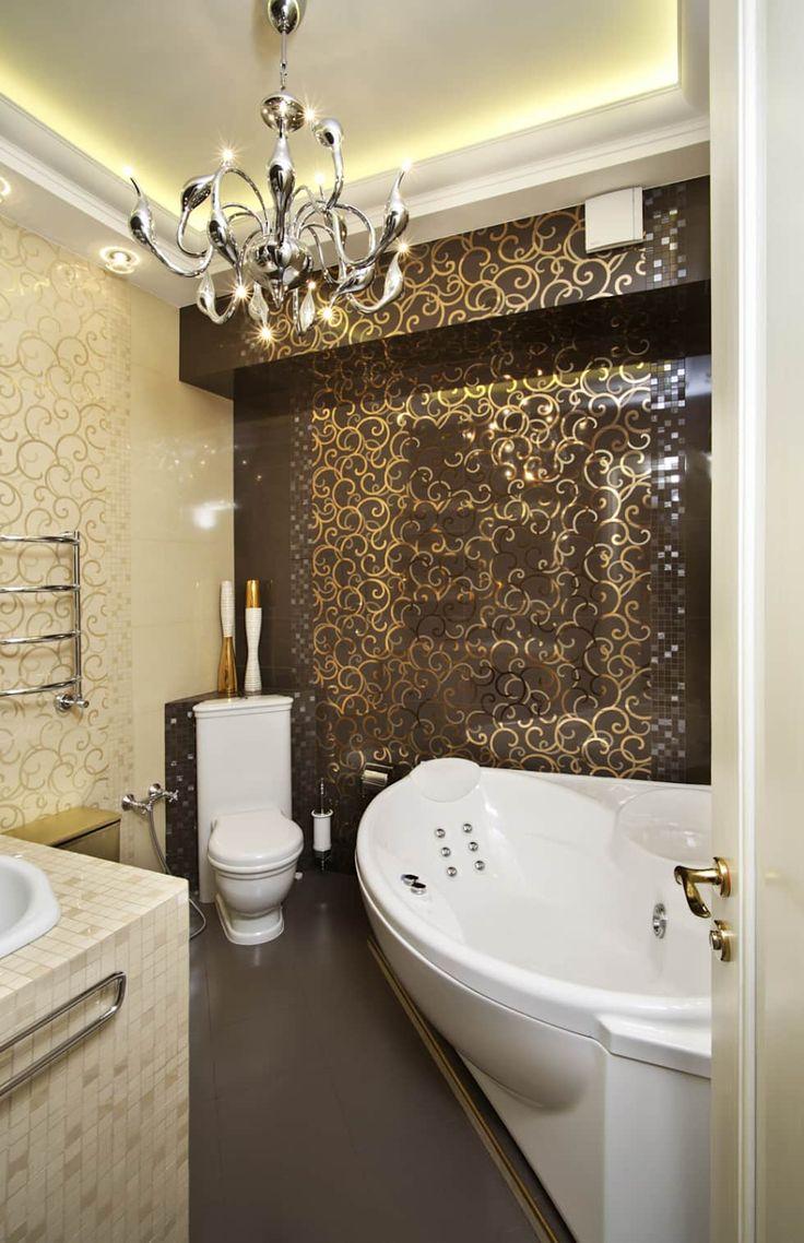 Дизайн интерьера 3-х комнатной квартиры на ул. Дорогомиловская: Ванные комнаты в . Автор - Дизайн бюро Оксаны Моссур