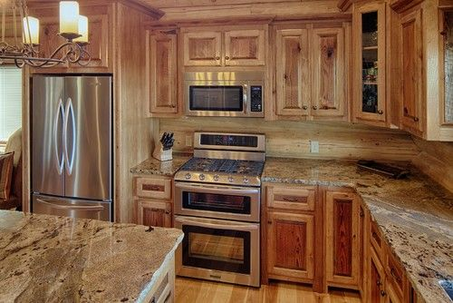 Dallas Kitchen Photos Kitchen With Dark Cabinets Design, Pictures, Remodel, Decor and Ideas - page 10love the granite!
