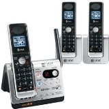 AT DECT 6.0 Black/Silver Digital BlueTooth Cordless Answering System (TL92378) (Office Product)By AT
