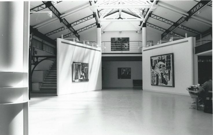 Exposition  Carlos Cabeza at Mostini Gallerie Paris 1992