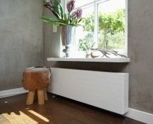 Sentimo radiator cover, mooi, makkelijk te plaatsten (5 minuten) en in vergelijking met nieuwe designradiators niet duur!