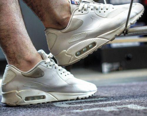 Nike Air Max 90 'Independence Day' White (by Matt Parker) http://SneakersCartel.com #sneakers #shoes #kicks #jordan #lebron #nba #nike #adidas #reebok #airjordan #sneakerhead #fashion #sneakerscartel