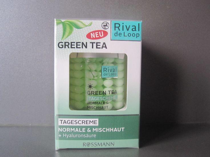 #sfmbox Januar :  Rival de Loop, Green Tea Tagescreme für Normale- & Mischhaut