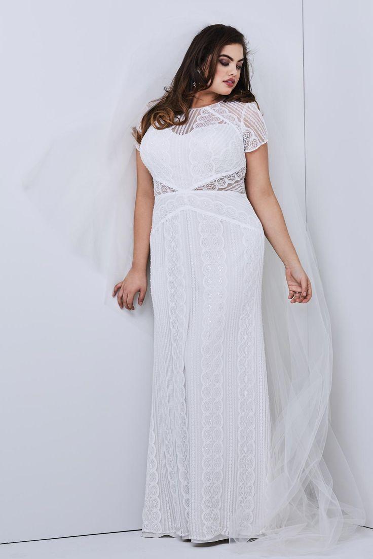 Traumhaft schönes, leichtes Brautkleid von Watters Modell ...