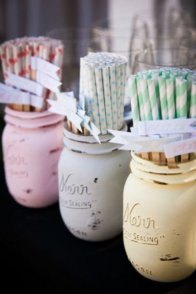 Mason Jars by BeachBlues on Etsy Photography by janaeshields.com Floral Design by poppystonedesigns.com