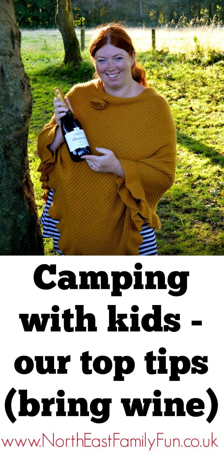 Our Top 5 tips for camping with kids this summer.