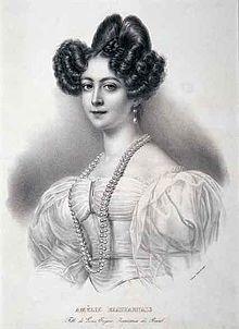 Brasil, 2° Imperatriz do ; Amélia Augusta Eugênia Napoleona de Beauharnais