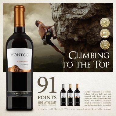Wine Enthusiast gave 91 Points to Montgó Monastrell   News & Events   Hammeken Cellars