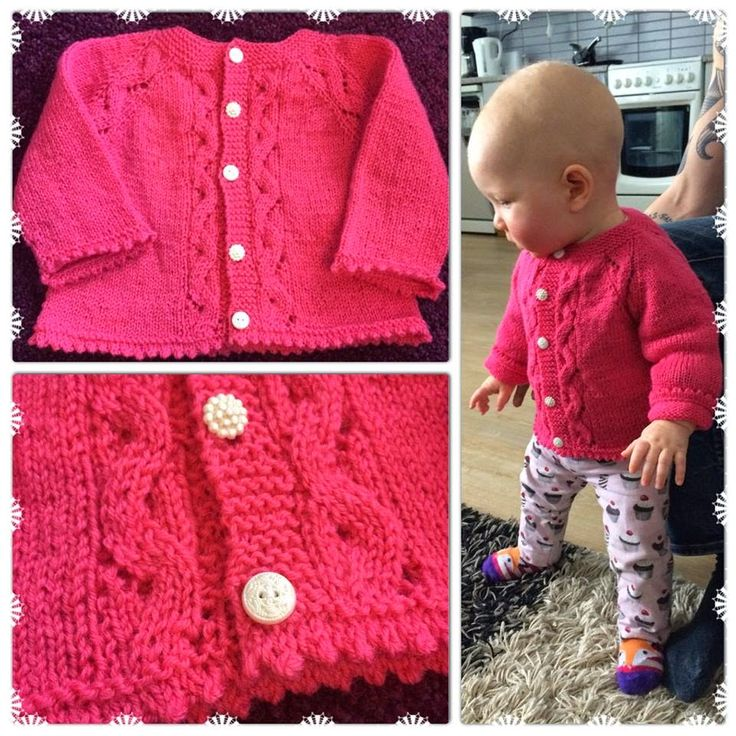 A needle and some thread: A Sunnyside gardigan for my niece (free pattern, link in the blog post)