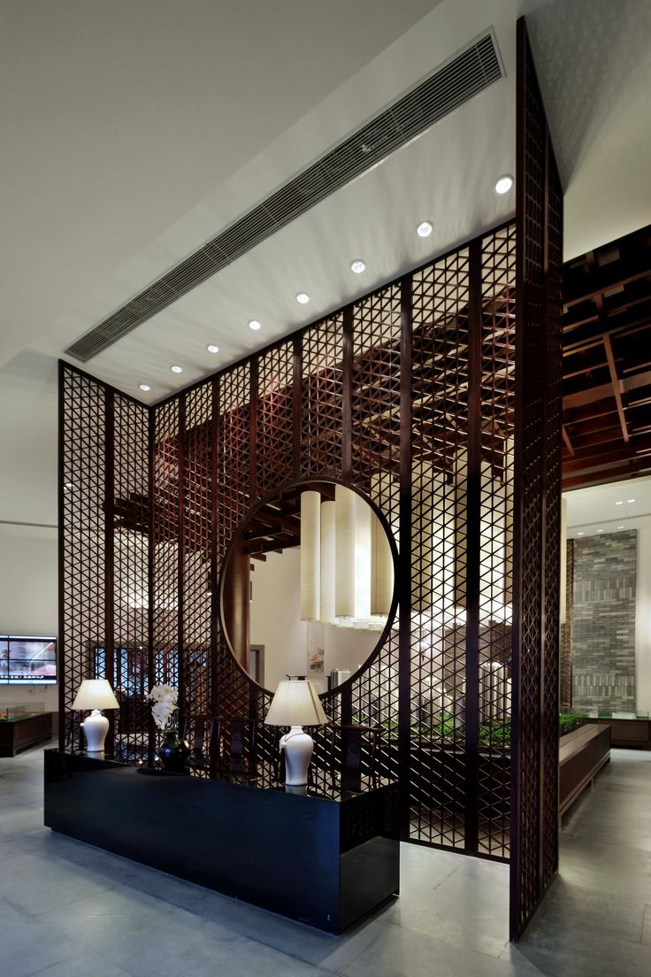 Designed By 7080 Interior Architecture Design Studios,New Chinese Style Marketing Center