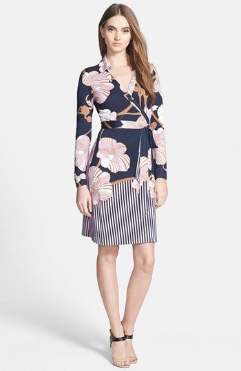 Nordstrom Dvf Wrap Dress Diane von Furstenberg New