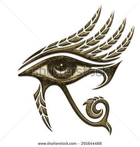 O Olho de Hórus ou Utchat (Uedjat) é um símbolo, proveniente do Egito Antigo , que significa proteção e poder, relacionado ao deus Hórus . Era um dos mais poderosos e mais usados amuletos no Egito em todas as épocas.