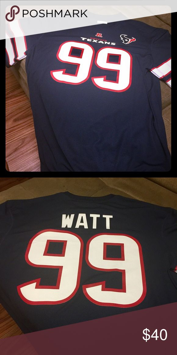 Houston Texans jersey shirt Houston Texans JJ Watt #99 jersey shirt...size XL...new without tags NFL Shirts
