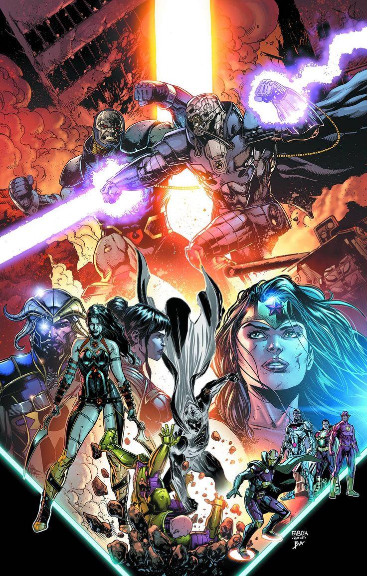 "*High Grade* (W) Geoff Johns (A/CA) Jason Fabok Darkseid versus Anti-Monitor! A corrupted Superman versus Lex Luthor! Myrina Black versus Grail! This chapter of ""Darkseid War"" has it all-plus an endin"