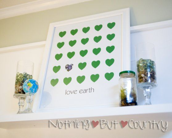 A free printable poster especially for Earth Day.