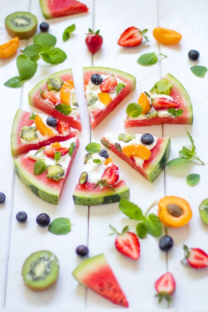 Wassermelonen-Pizza