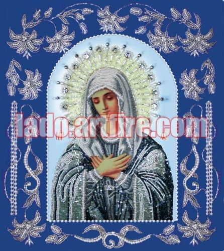 Tenderness Beaded Embroidery DIY kit orthodox icon
