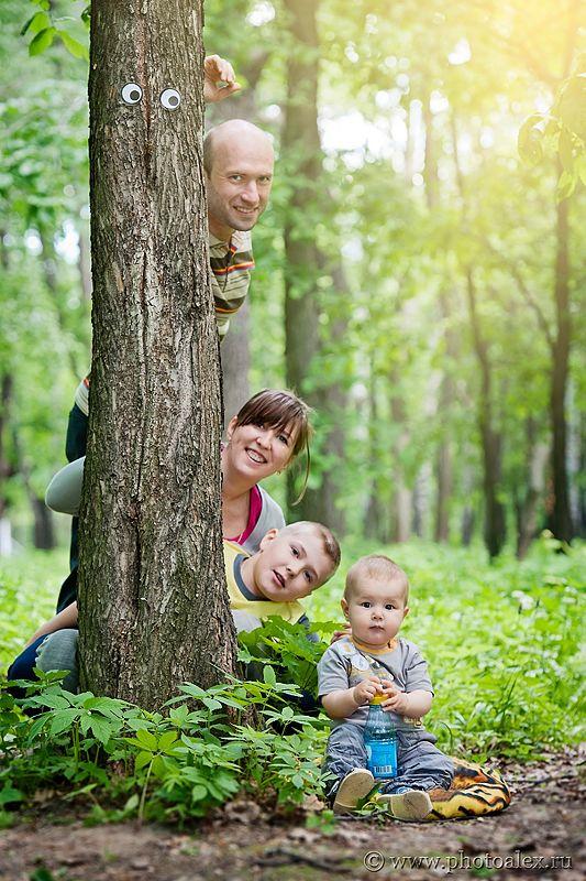 Выглядываем из-за дерева, попробовать с разных сторон