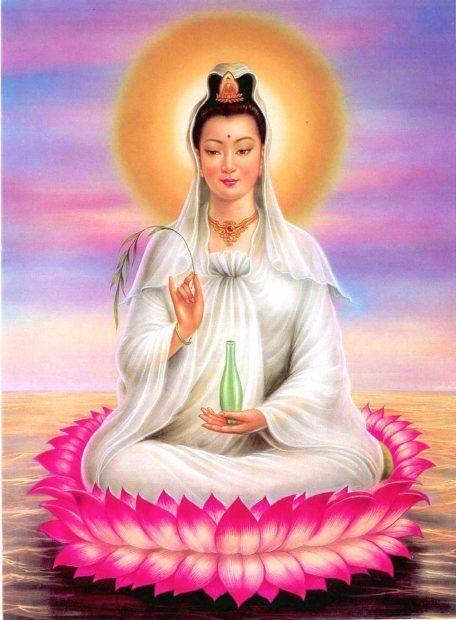 La Burbuja del Amor Eterno de la Maestra Ascendida Kwan Yin