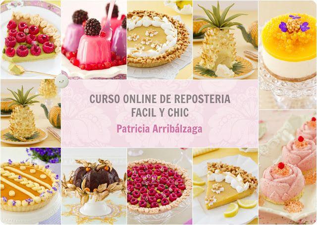 Curso Online de Repostería Fácil y Chic de Patricia Arribálzaga