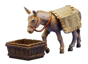 5 Inch Scale Mary's Donkey by Fontanini®. Following the sheep, Mary's donkey is everyone's favorite!