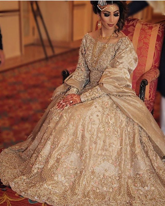 Maria looks stunning in this Republic by Omar Farooq bridal attire . Thank you…