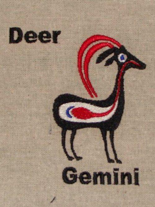 Hopi Deer Symbols