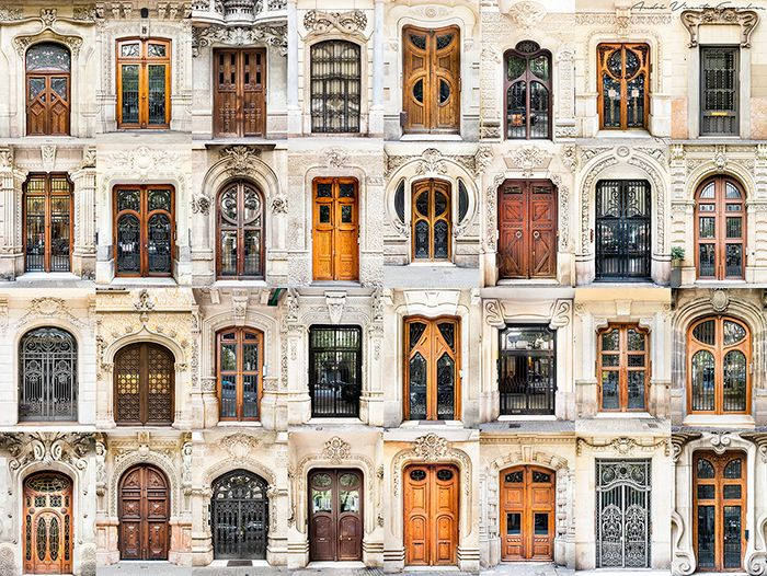 Photographer Travels Around The World To Capture The Beauty Of Doors And Windows These were all photographed in Spain