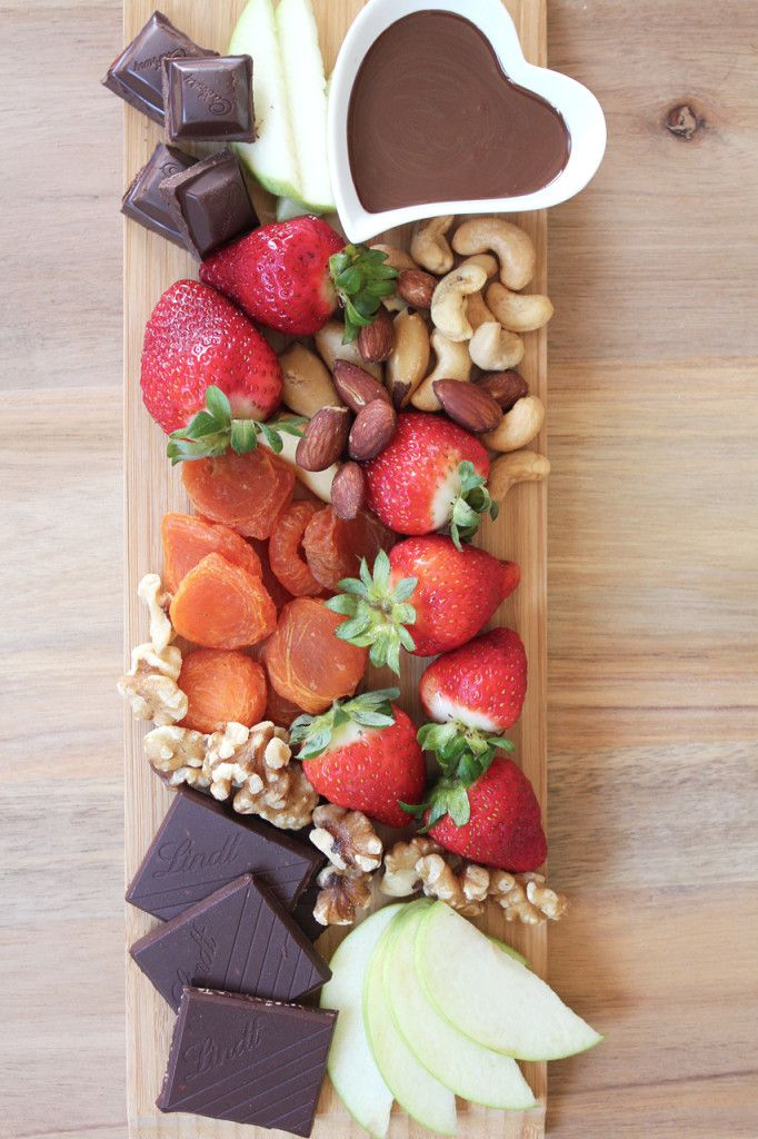 Healthy Dessert Platter by Dossier Blog and other great party food ideas