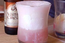 Bubble gum vodka ice cream float- needs no futher explanation.