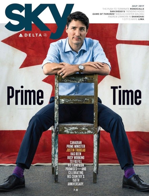 Justin Trudeau Is Your Cool Substitute Teacher In This Magazine Cover