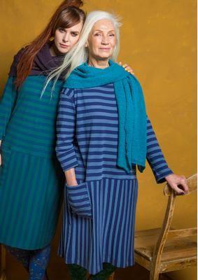 Striped dress in eco-cotton 75706-60.tif