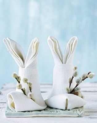 Bunny Napkins | How to Fold