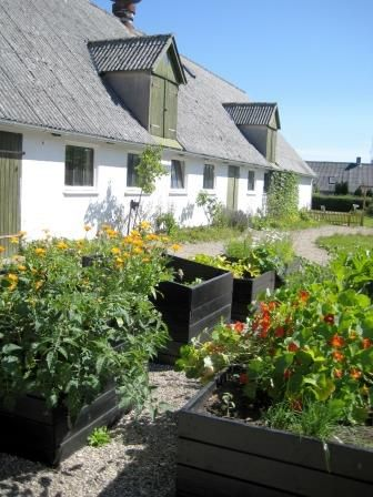 The garden, Æblegaarden B&B, Langeland, Denmark, www.aeblegaarden.dk